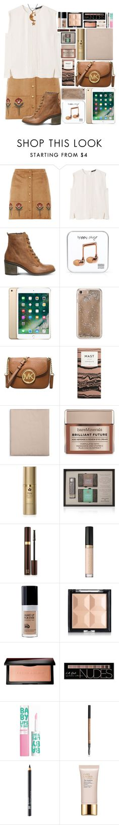 """""""🌜Set Me On Fire."""" by af1nda ❤ liked on Polyvore featuring Dorothy Perkins, MANGO, Office, Happy Plugs, Agent 18, Michael Kors, Hotel Collection, Bare Escentuals, Melchior & Balthazar and Tom Ford"""