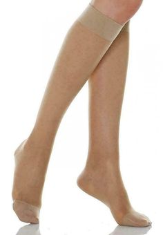 40 Denier Soft Stretch Microfibre Knee High Socks 4-7