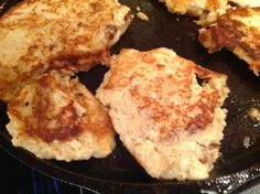 Gluten-Free Cauliflower Cheese Pancakes Recipe and Xtrema 100% Ceramic Wok #giveaway