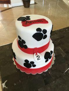 Paw cake