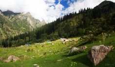 Amazing view of Kheer ganga after monsoon ! #kasol #parvativalley