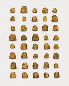 Древнеегипетские накладные ногти из золота | Студия красоты Талия