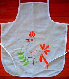 Vintage bib apron