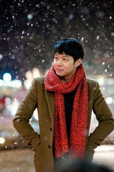 Park Yoochun Disfruta de una Blanca Navidad...