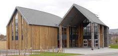 scottish larch cladding - Loch Lomond - Glasgow Architecture