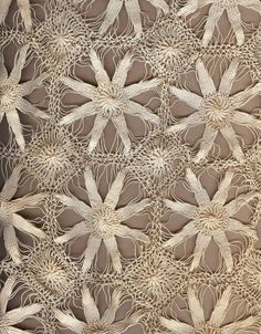 hilos de una estrella de mar