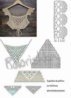 Pin by bas on βελονκι This Pin was discovered by Nhu Dê um toque decorativo e fashi With interesting construction and tons of texture,Imagini pentru tops a crochet patrones This Pin was discovered by Nar 98 Likes, 2 Comments - Super Crochet Halter Tops, Motif Bikini Crochet, Débardeurs Au Crochet, Beau Crochet, Mode Crochet, Crochet Summer Tops, Crochet Chart, Crochet Stitches, Crochet Tutorial