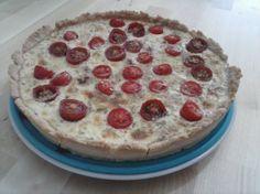 Quiche de tomates cherry, bacon y queso de cabra para #Mycook http://www.mycook.es/receta/quiche-de-tomates-cherry-bacon-y-queso-de-cabra/