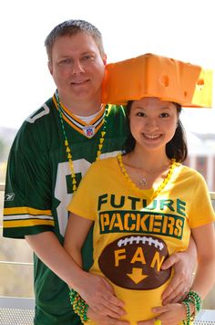 Packers Maternity Tee Limited Edition by tokyocrafts on Etsy, $43.00