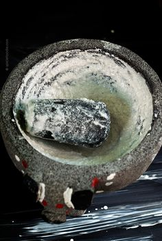 How to Cure a Molcajete