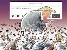 Nick Anderson Editorial Cartoon, November 18, 2016 on GoComics.com
