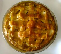 home-made apple pie