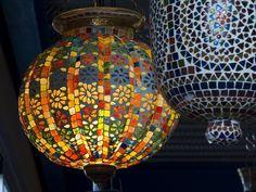 mosaiquismo lamparas - Buscar con Google