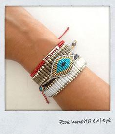 Zoe kompitsi evil eye bracelet