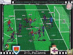 CD Numancia, 2 - RC Deportivo, 1 - Miguel Palanca, 2-1, min.83'