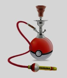 too cool, doesnt actually exsist but i want one. #hookah #pokemon