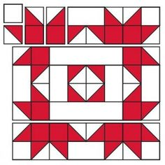 Sew Block Quilt Block 14 for the 2017 Christmas Countdown. Hand Quilting Designs, Barn Quilt Designs, Barn Quilt Patterns, Quilting Tutorials, Quilting Projects, Quilting Ideas, Beginner Quilting, Sewing Projects, Christmas Quilt Patterns