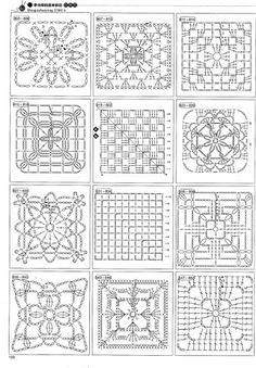 2180 Crochet Motifs - Donna Taylor - Picasa Web Albums