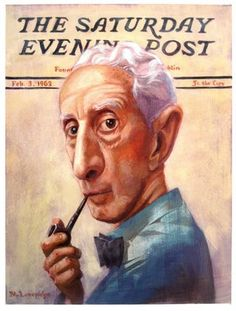 Norman Rockwell - will never be another one like him.  You can always spot a Norman Rockwell painting!