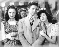Gloria Jean, Donald O'Connor, and Peggy Ryan