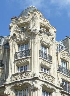 Art Nouveau architecture, Paris, France