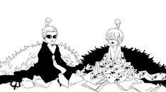 One Piece, Donquixote Doflamingo, Rocinante