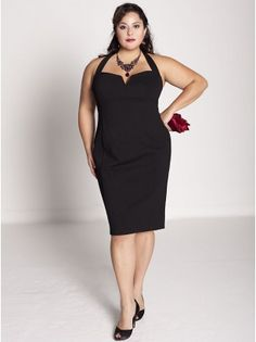 And Audrey dress for us curvy ladies? YAY!
