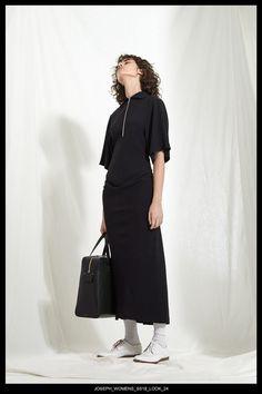 JOSEPH Fashion, Pre-Spring Summer 2018 Collection, Look 24 // Creative Director: Louise Trotter. Styling: Jane How. Photography: Bibi Borthwick. Models: Milena Litvinovskaya and Leila Zandonai //