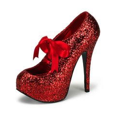 TEEZE Red Glitter Heels from Tragic Beautiful. Saved to I see red. Shop more products from Tragic Beautiful on Wanelo. Pumps, Shoes Heels, Red Glitter Shoes, Dorothy Shoes, Rockabilly Shoes, Gothic Shoes, Perfect Dark, Me Too Shoes, Heeled Boots