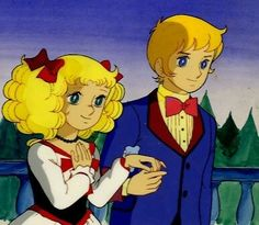Anthony and Candy forever || (Anthony never died in the French version of the anime)