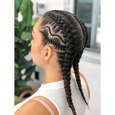 25 Must-Have Goddess Braids Hairstyles Short Box Braids Hairstyles, African Braids Hairstyles, Braided Hairstyles, Cool Hairstyles, Girls Braids, White Girl Braids, Corn Roll Hair Styles, Cornrow Ponytail, Natural Hair Styles