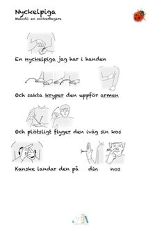 Tecken som stöd Sign Language, Special Needs, Diy For Kids, Kindergarten, Singing, Preschool, Teaching, Writing, Education