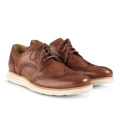 Cole Haan LunarGrand Wingtip Woodbury (brown)