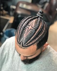 # individual Braids for boys Braid Styles For Men, Hair And Beard Styles, Curly Hair Styles, Natural Hair Styles, Braid Designs For Men, Cornrow Hairstyles For Men, Black Men Hairstyles, Hairstyles 2018, Braid Styles
