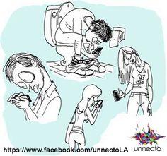 ¡Bailar, Caminar, Bañarse, Vestirse - Todo es incompleto sin un #Smartphone!   #Unnectola