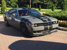 """Obtain fantastic ideas on """"Dodge Challenger"""". They are actually readily available for you on our internet site. Luxury Sports Cars, Best Luxury Cars, Sport Cars, Muscle Cars Dodge, Mopar, Dodge Challenger Srt Hellcat, Doge Challenger, Modern Muscle Cars, Mustang Cars"""