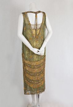 gorgeously embellished dress from the 20s
