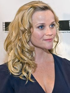 The Best Celeb Hairstyles For Every Length: Medium-length: Reese Witherspoon