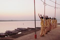 Varanasi, the 3,000-year-old holy city on the banks of the sacred River Ganges in India's north.