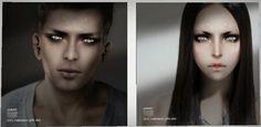 PUBLICIDAD Y MARKETING PARA SECOND LIFE: Onda Halloween:::: Skin , ojos, momias PARA HOMBRES