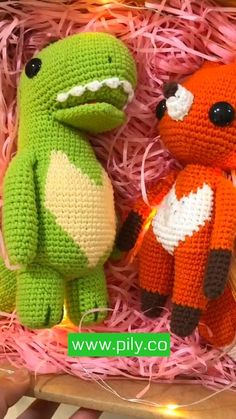 Personalize Stuff Animal Fox and Dragon Crochet Animal Stuffed Animal for Baby holding hands baby girl new baby gift, toddler set of 2 toys #plushsofttoy #crochetedanimals #stuffedanimals #crochetkidsanimals #babygranddaughter #babygirlgift #toddlertoy #babyfoxtoy #boybabyshower #imissyou #crochettoycartoon #giftforkids #toybypicture Diy Crochet Doll, Crochet Hook Set, Crochet Doll Pattern, Crochet Baby, Crochet Animal Patterns, Crochet Animals, Knitting Accessories, Baby Girl Gifts, Amigurumi Doll