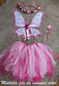 DIY fairy costume Fairy Princess Costume, Fairy Costume Diy, Tutu Costumes, Costume Dress, Halloween Costumes, Fairy Crown, Diy Tutu, Kids Dress Up, Fairy Dress