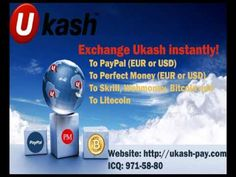 Exchange Ukash to Perfect Money EUR, Ukash to Perfect Money USD. Perfect...