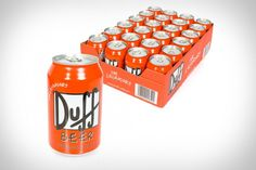 Duff Beer 24 Can Pack - Take My Paycheck | The coolest gadgets, electronics, geeky stuff, and more! Shut up and take my money!