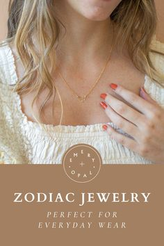 Personalized zodiac constellation necklaces for your celestial bridesmaids! #celestialwedding #bridesmaidjewelry #zodiac