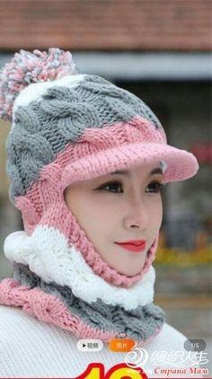 . Шлем и другие шапки - Вязание - Страна Мам