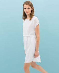 SHORT SLEEVE DRESS from Zara Ref. 5410/033 $59.90