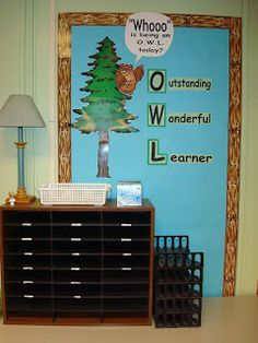 Awesome site full of great ideas for a camping themed classroom!