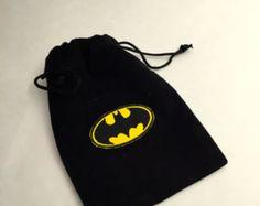 Conjunto de 12 Batman Favor bolsos con etiquetas   Supernatural Style