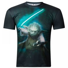 Summer 2016 New Camisetas Hombre Novelty Star Wars Men T-Shirts Print Tops O-Neck Short Sleeve T shirt Male Homme Funny Tees Yoda T Shirt, Male T Shirt, Shirt Men, Tee Shirt, 3d T Shirts, Casual T Shirts, T Shirts For Women, Star Wars Quotes, Star Wars Humor